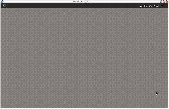 Arch LinuxでWayland + Westonを動かしてみる